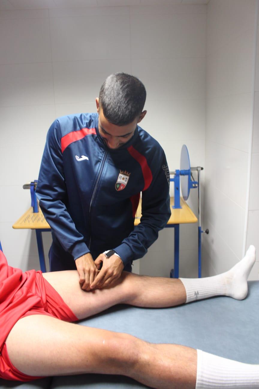 Mulay, Fisioterapeuta de la A.D Arganda