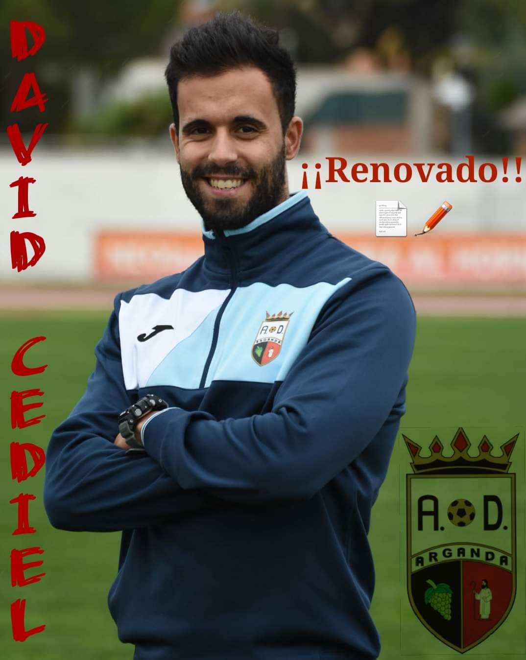 RENOVACIÓN DE DAVID CEDIEL