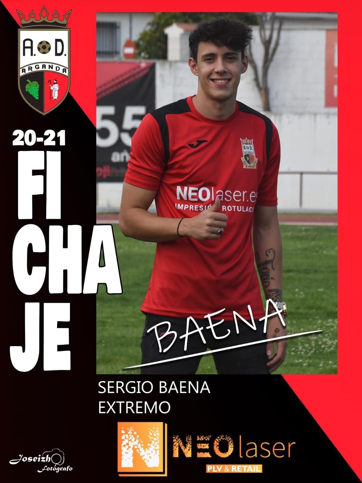 FICHAJE DE SERGIO BAENA