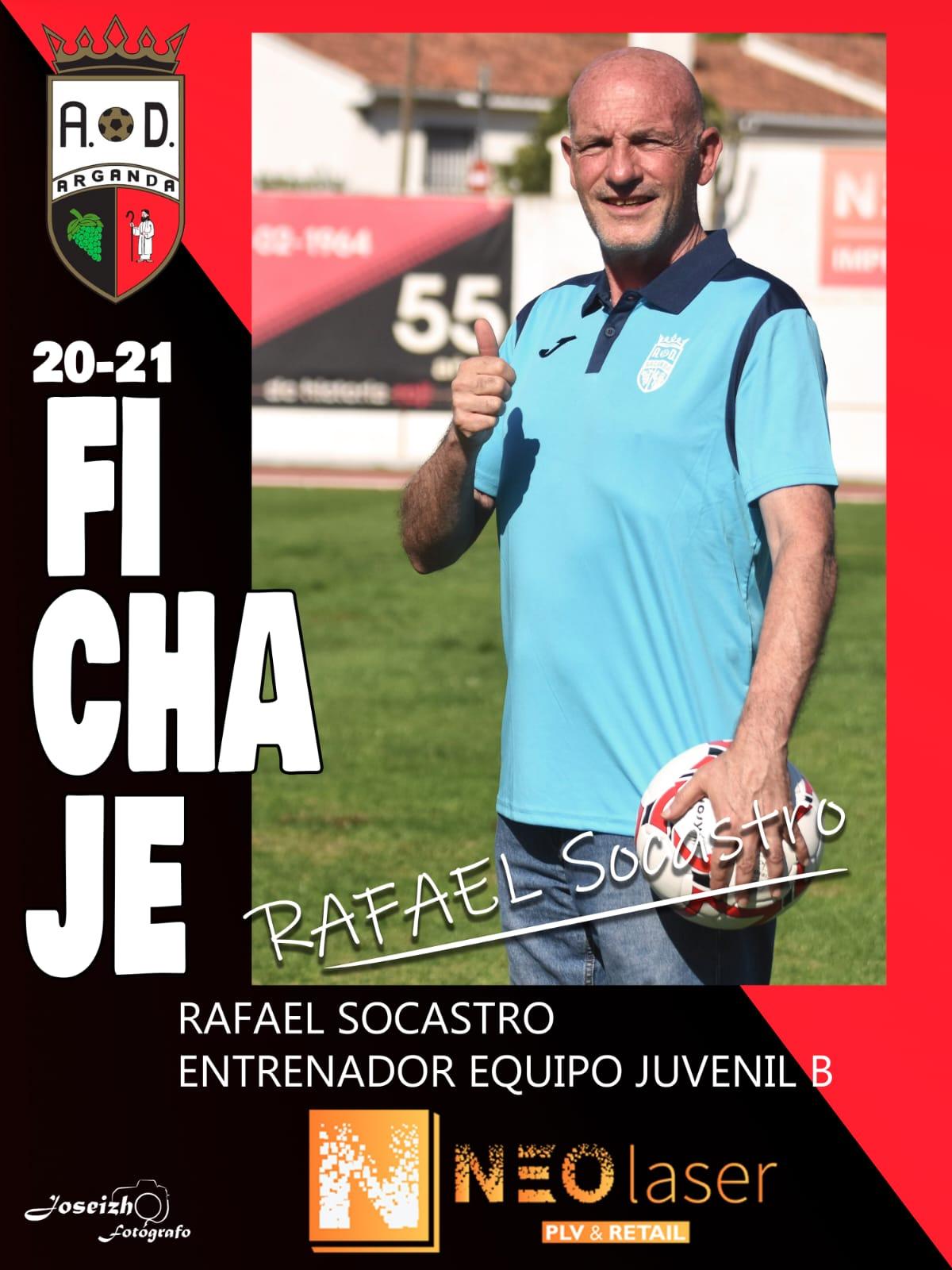FICHAJE DE RAFAEL SOCASTRO