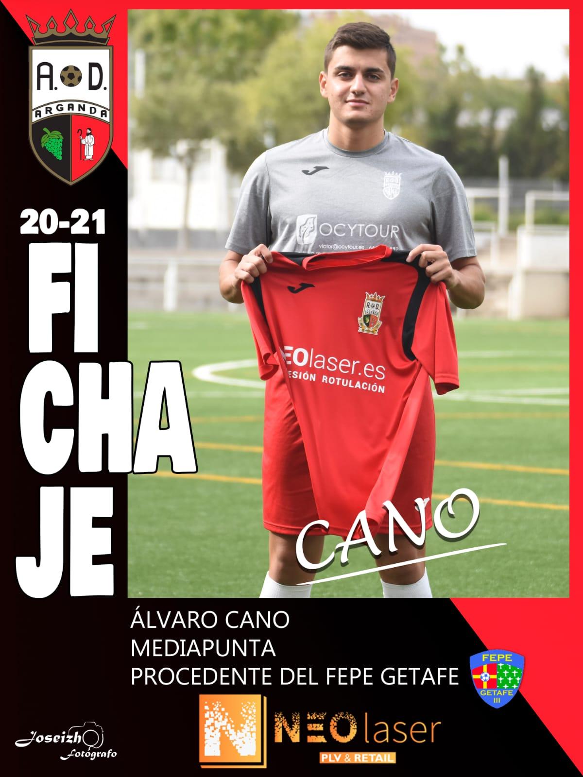FICHAJE DE ÁLVARO CANO