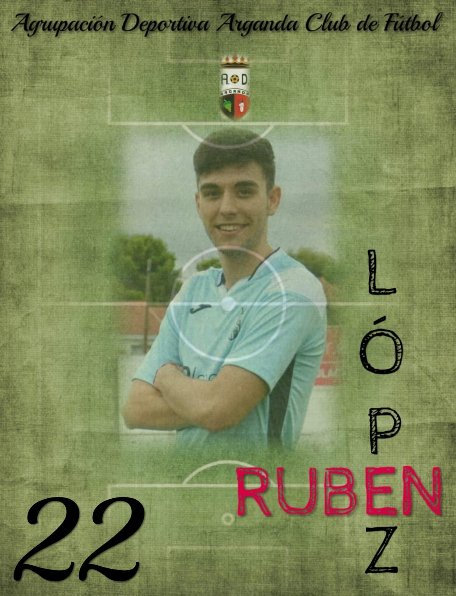 RENOVACIÓN DE RUBÉN LÓPEZ