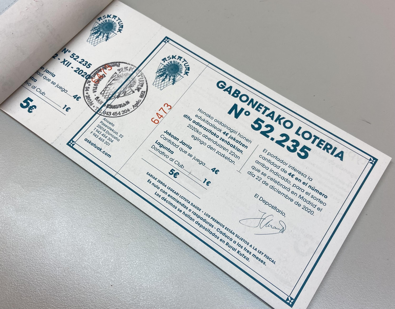GABONETAKO LOTERIA 2021