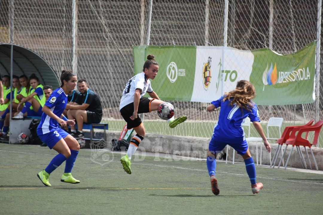 El Valencia B se lleva los puntos del Pablos Abril