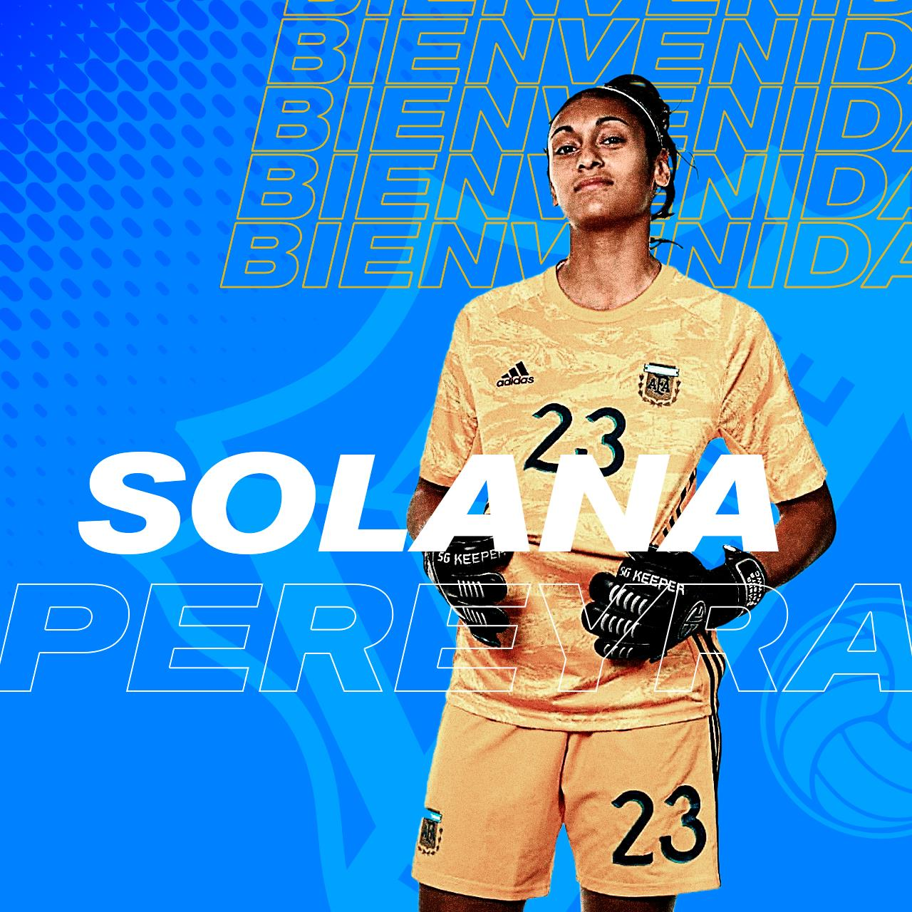 Bienvenida Solana Pereyra.