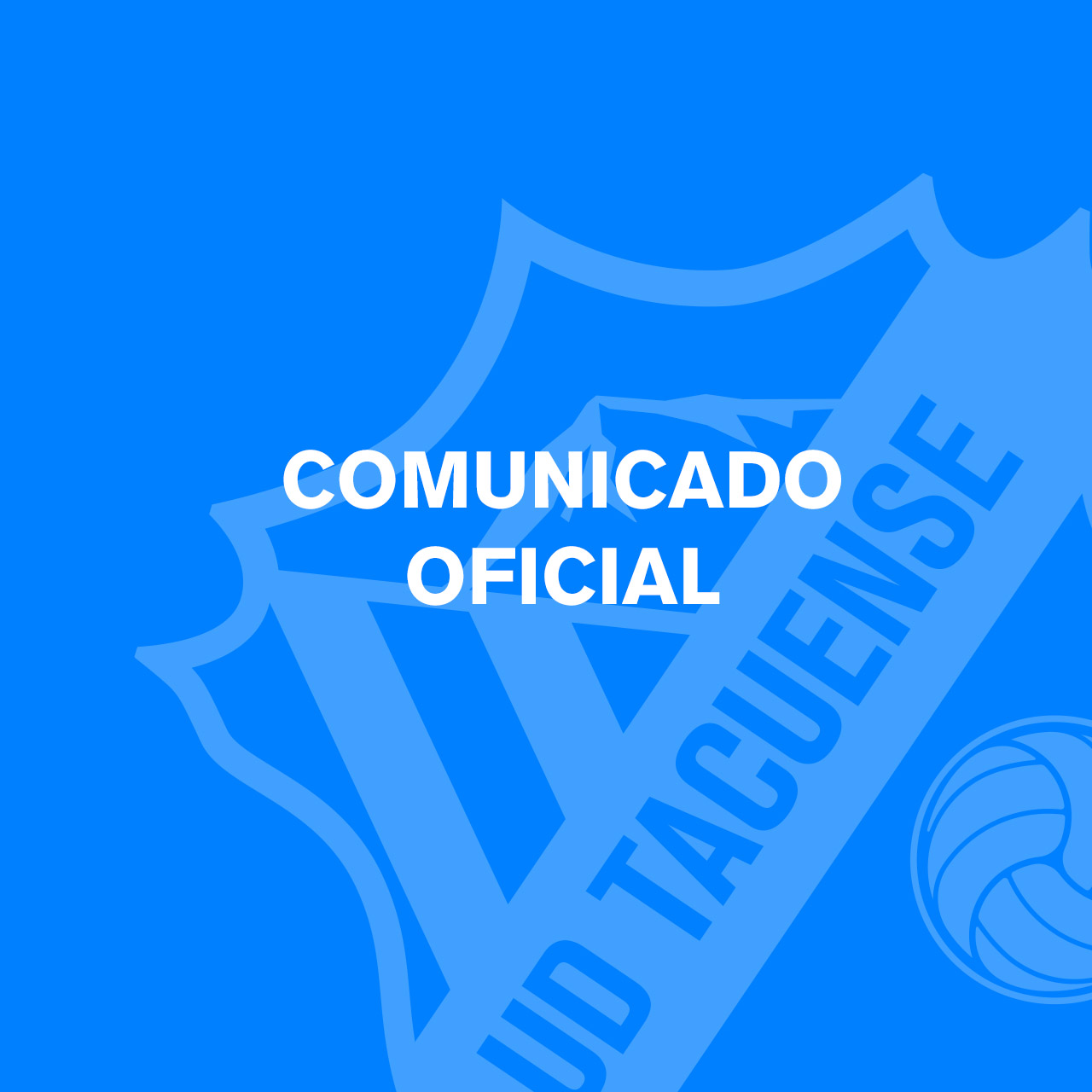 COMUNICADO OFICIAL DESVINCULACIÓN ENTRENADOR