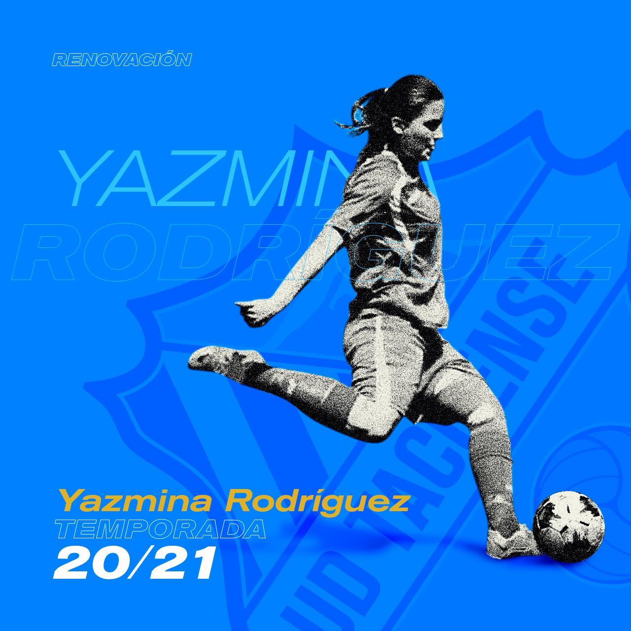 Yazmina Rodríguez renueva su compromiso