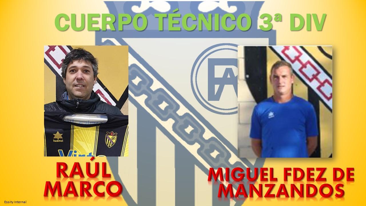 Cuerpo técnico 3ª División Temporada 2020/21