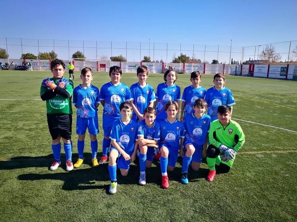 Victoria del Alevin por 4 a 0