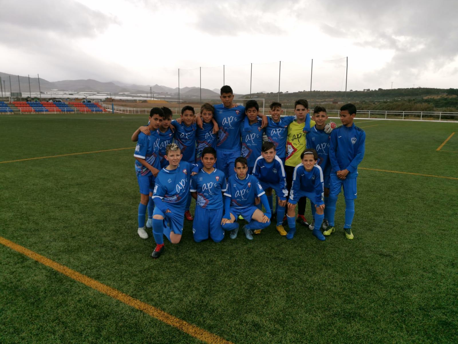 Nueva victoria del equipo infantil