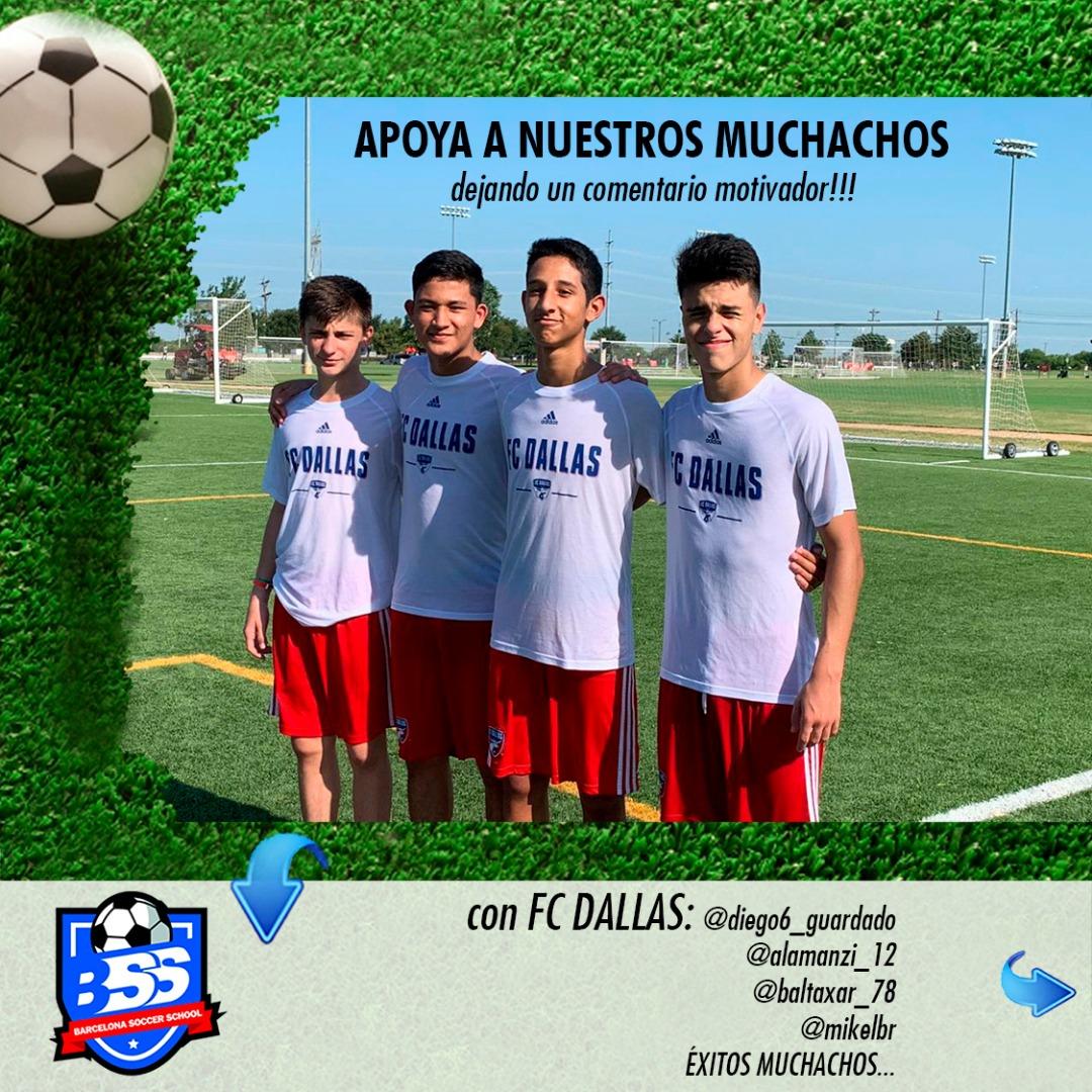 sdsJUGADORES A PRUEBA EN DALLAS FC
