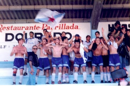 CELEBRACIÓN DO ASCENSO A REXIONAL PREFERENTE NO ANO 1998