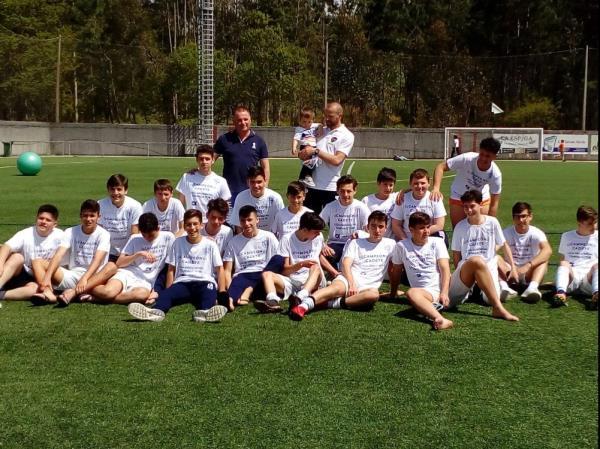 O noso equipo Cadete proclamouse hoxe CAMPEÓN da súa Liga.