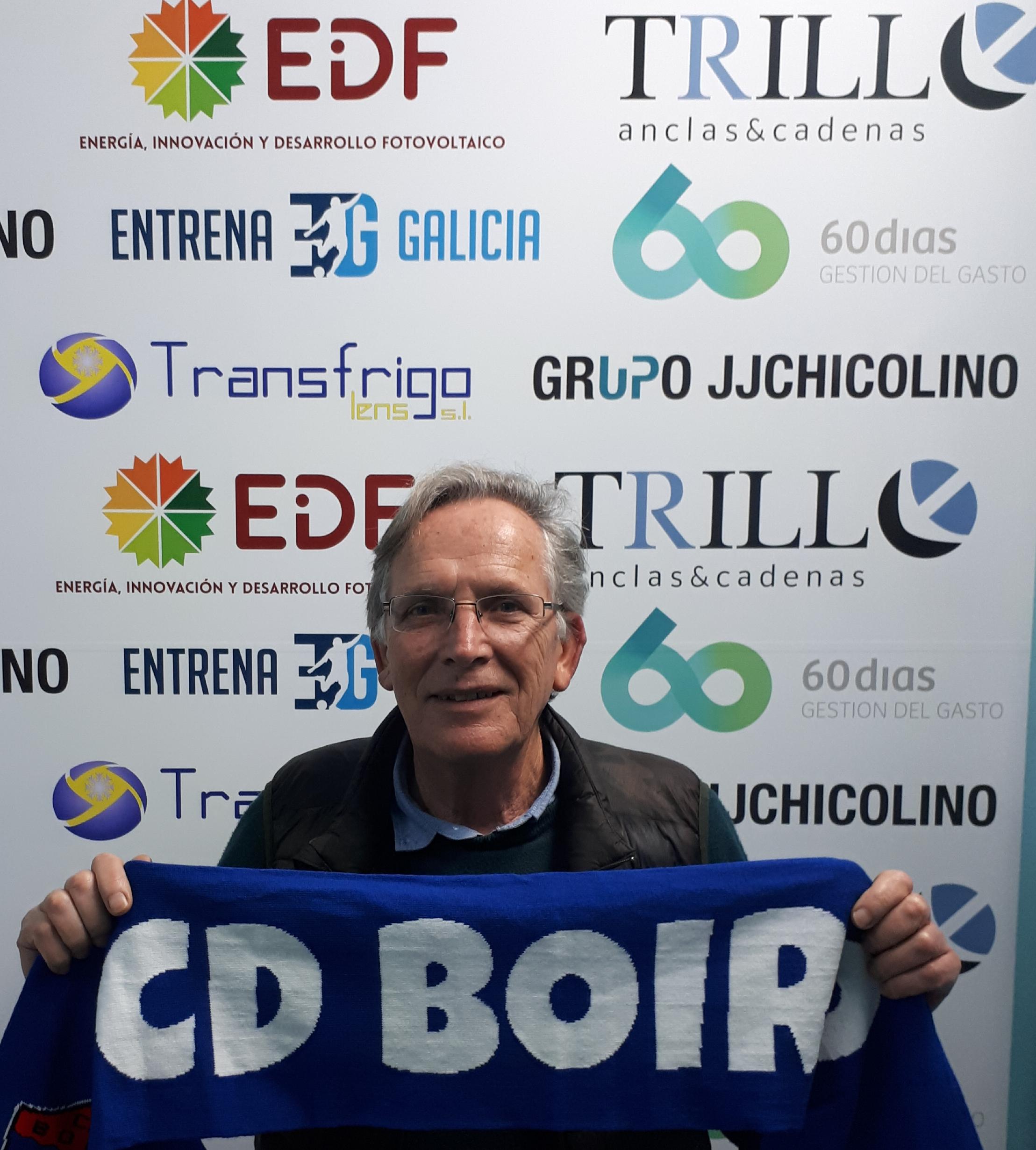 O C.D.Boiro suma un novo membro na xunta directiva Vicente Suevos Recarey .
