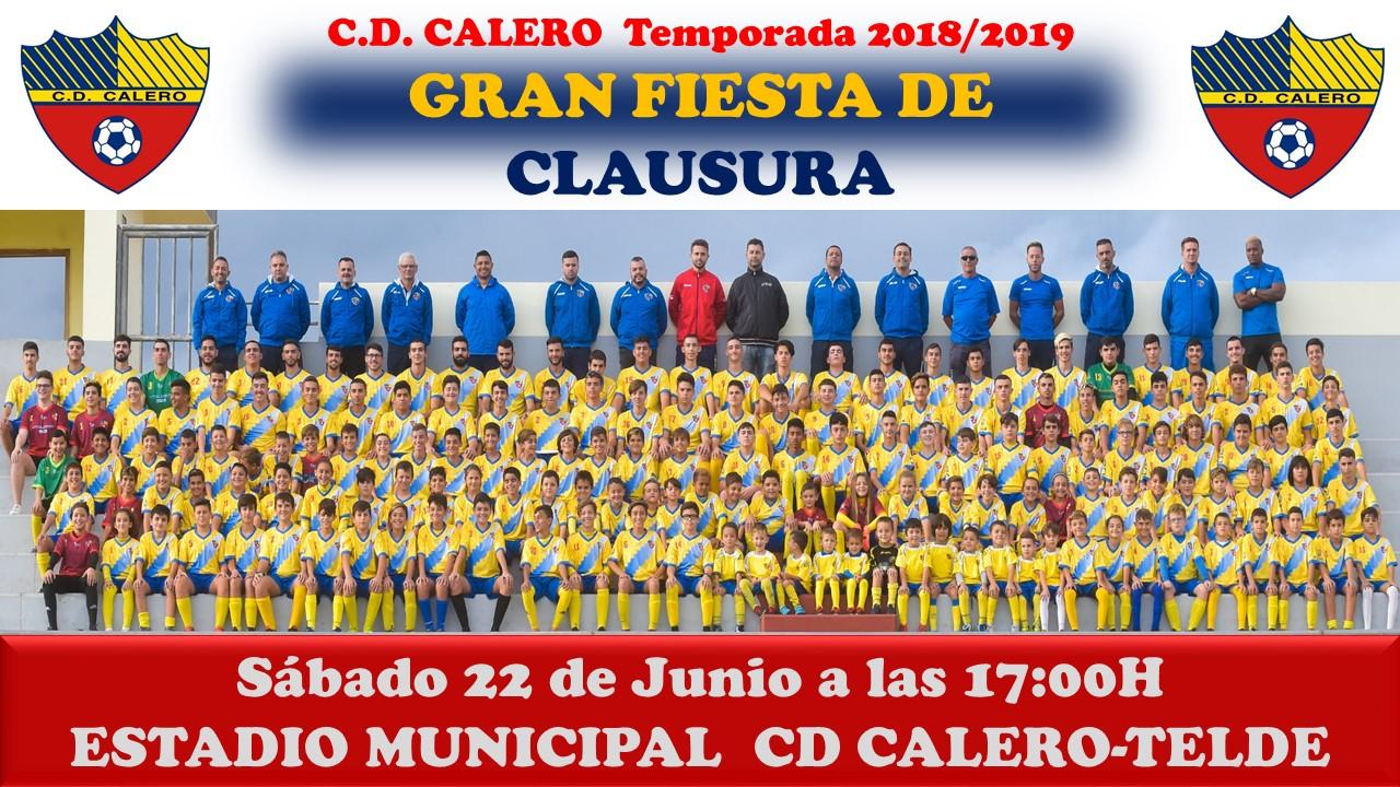 ACTO DE CLAUSURA TEMPORADA 2018/2019