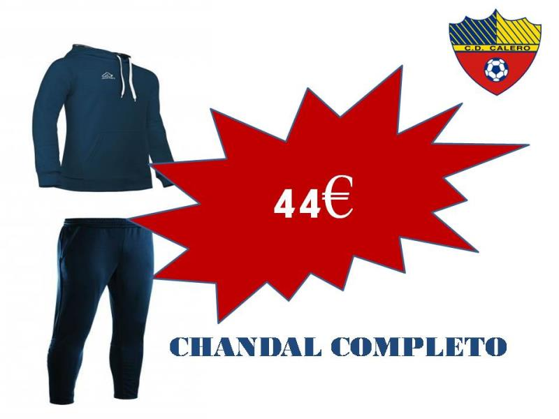 CHANDAL COMPLETO