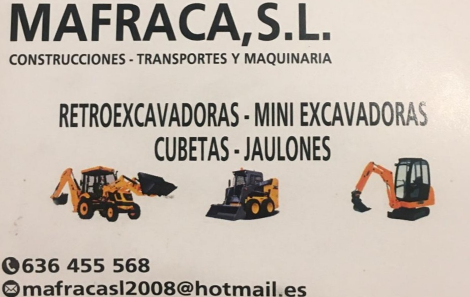 MAFRACA,S.L.