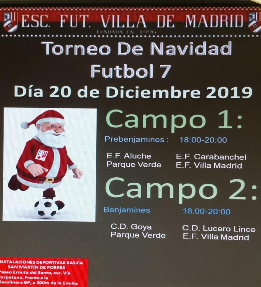 TORNE E.F. VILLA MADRID (¡¡CAMPEONES!!)