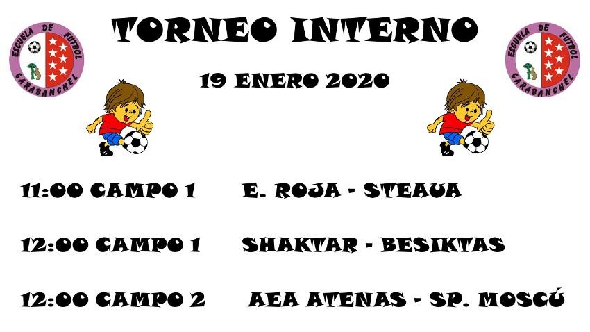 HORARIOS T. INTERNO (12 ENE)