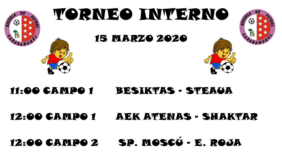 HORARIOS T. INTERNO (8 MARZO)