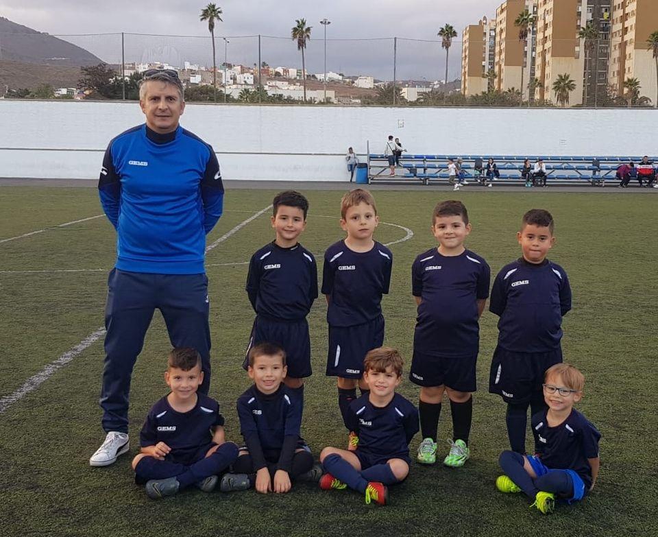 sdsMini-Prebenjamín CFU Carrizal – Formación, diversión y mucho fútbol