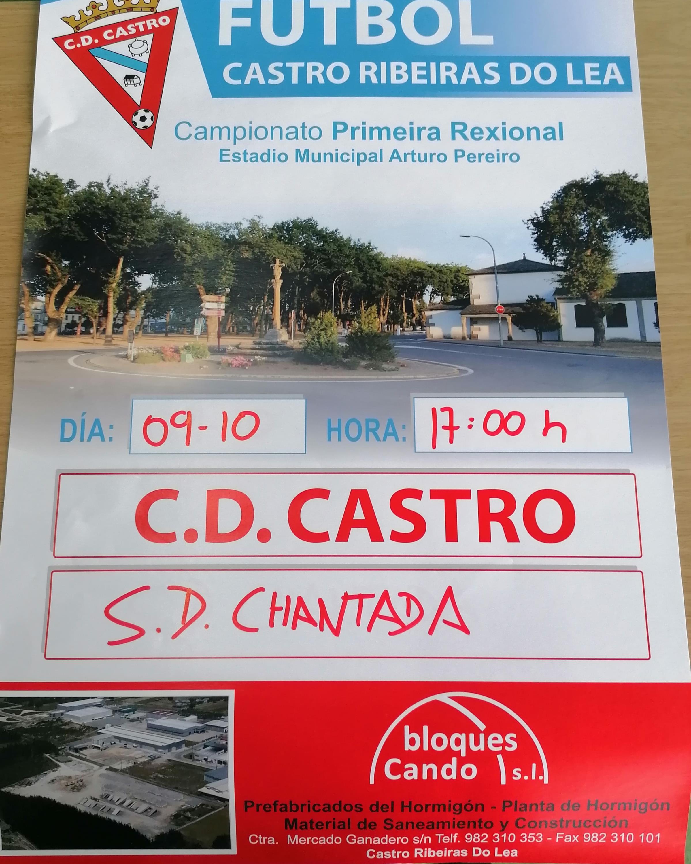 PARTIDO PRETEMPADA C.D.CASTRO - S.D. CHANTADA