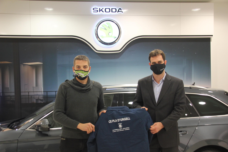 Acord de col·laboració amb Skoda Autodalser Dalmau