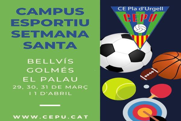 Inscripcions al campus esportiu de Setmana Santa