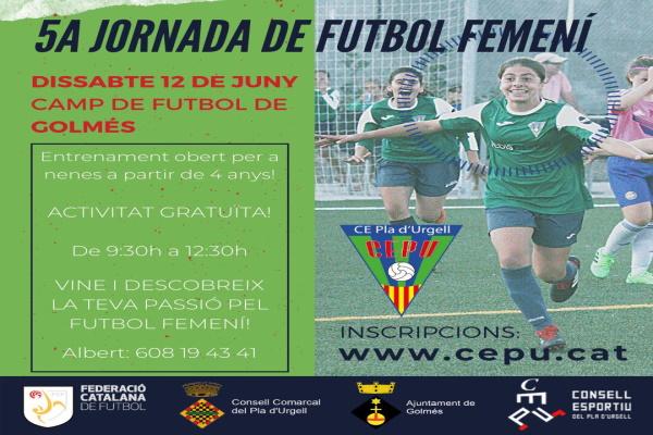 5a Jornada de Futbol Femení del CE Pla d'Urgell