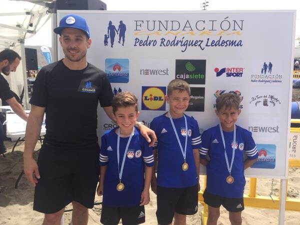 Torneo Futbol Playa solidario