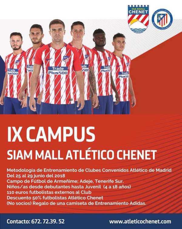 Campus verano SiamMall Atletico Chenet