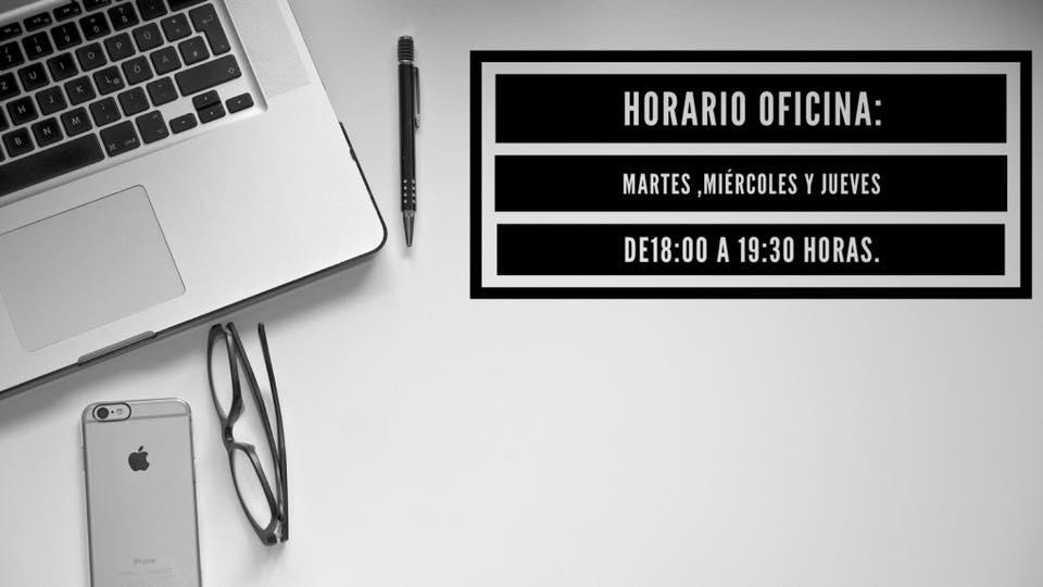 Horario oficina club SiamMall Atletico Chenet
