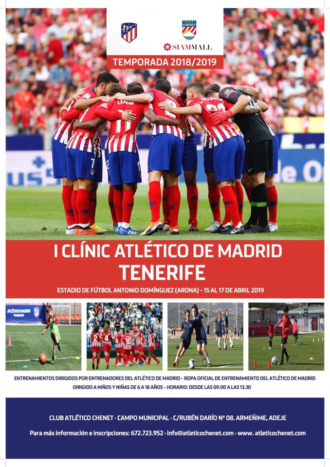 I Clinic Atletico de Madrid