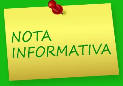 Nota informativa del Club Atletico Chenet para todos sus socios