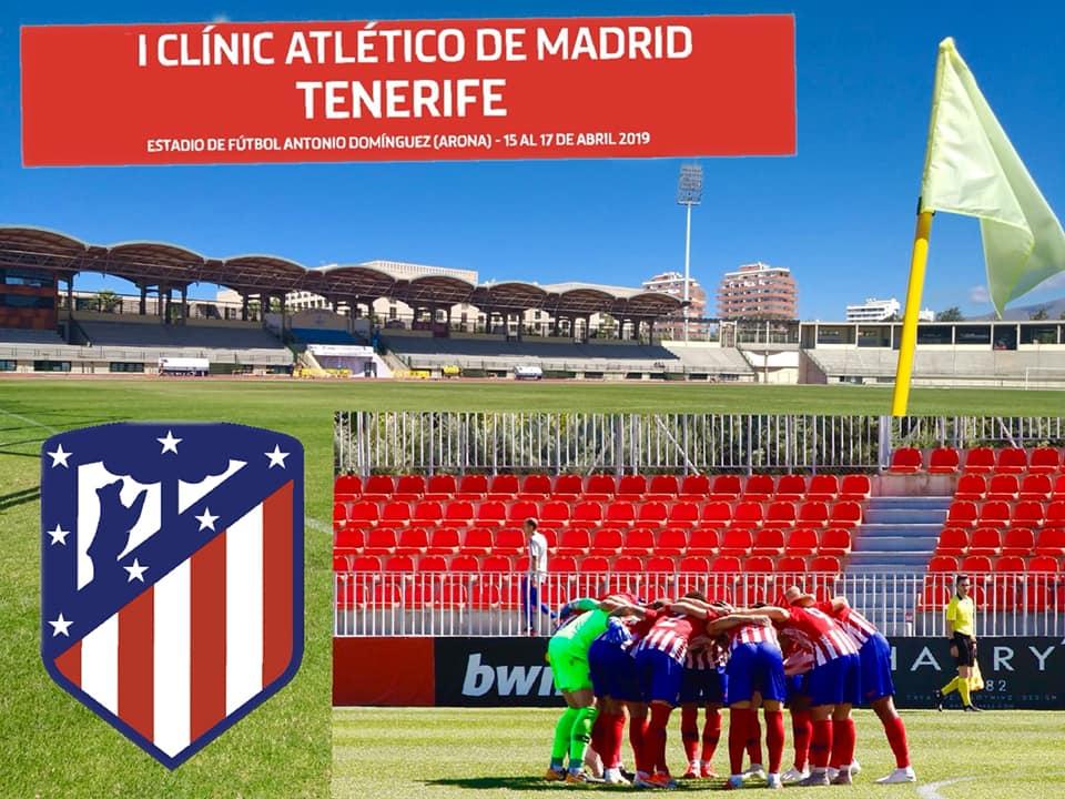 Inscricion Clinic Atletico de Madrid