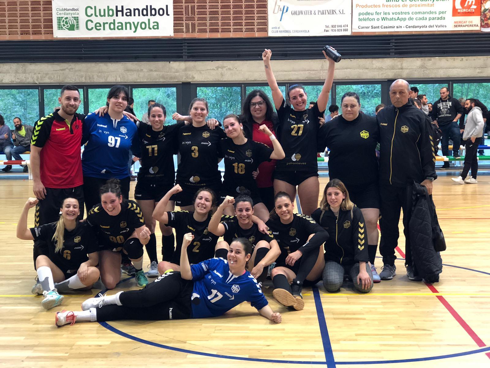 El Primer Equip Femení puja a Lliga Catalana