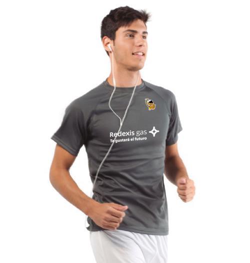 Camiseta Entreno Gris