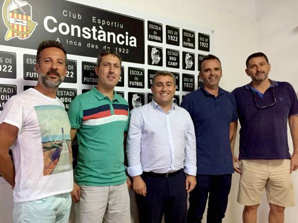 Firma del convenio anual con el Ajuntament d'Inca e IMAF