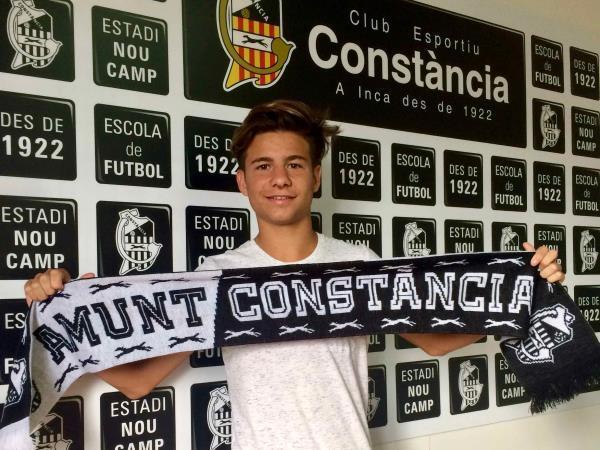 Andres García convocado con la Sub 15 Española