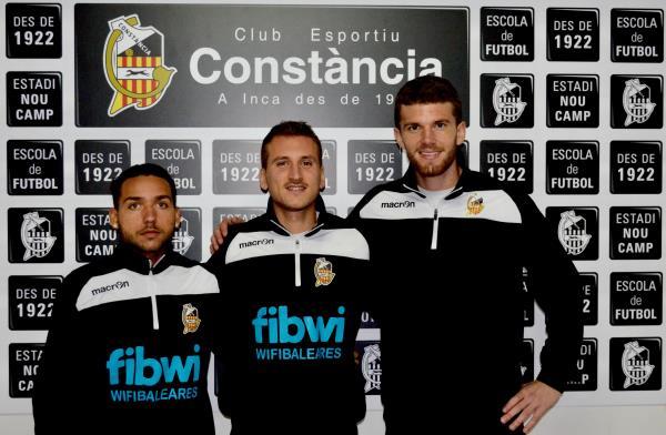 Tres jugadores convocados con la Selección Baleares UEFA