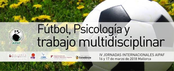Presentación IV Jornadas Internacionales Psicología Deportiva