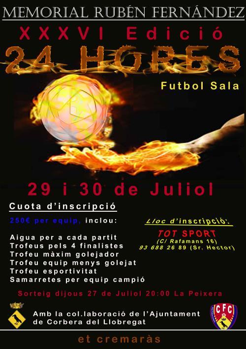 XXXVII Torneig 24 hores Futbol Sala