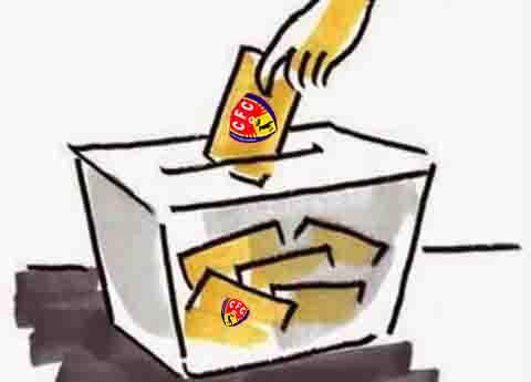Resultats eleccions a la presidència del C.F. Corbera