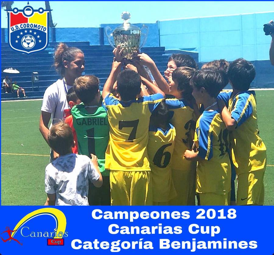 Benjamines Campeones!!