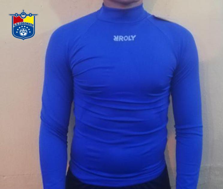 Camiseta térmica azul