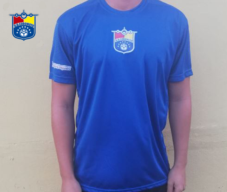 Camiseta entrenamiento azul