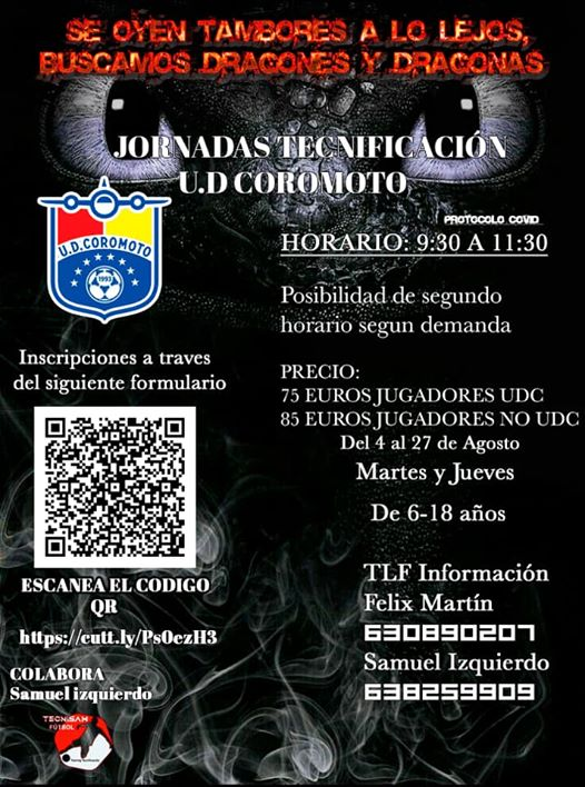 JORNADAS DE TECNIFICACIÓN