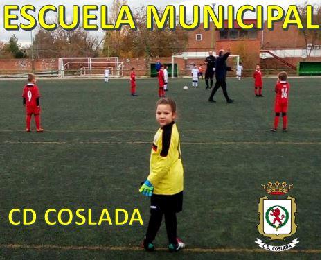 Información Escuela Municipal CD Coslada