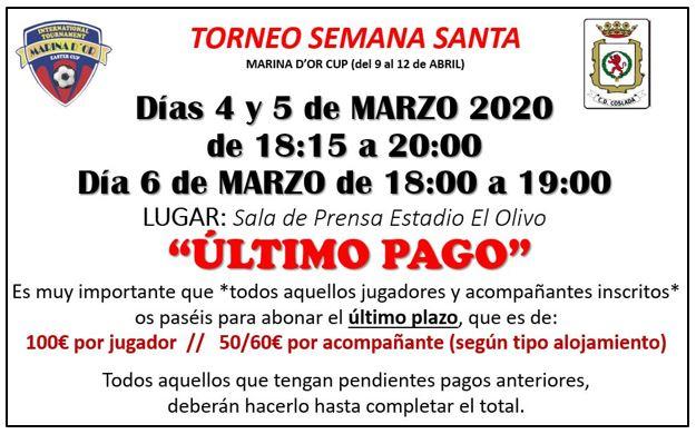Torneo Semana Santa 2020