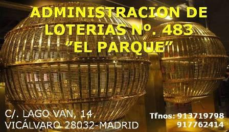 LOTERIAS EL PARQUE - admon 483